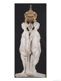 The Three Graces, Funerary Monument with the Heart of Henri II (1519-59) 1559