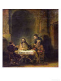 Buy The Supper at Emmaus, 1648 at AllPosters.com