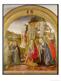 Adoration of the Child by St. Ambrose and St. Bernard
