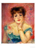 Buy Portrait of the Actress Jeanne Samary, 1877 (Study) at AllPosters.com