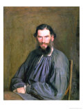 Portrait of Count Lev Nikolaevich Tolstoy (1828-1910) 1873