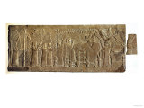 Banquet of Ashurbanipal, Gypsum Carving from North Palace, Nineveh, circa 640Bc