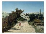 Route De La Gineste, Near Marseilles, 1859
