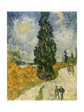 Buy Road with Cypresses, c.1890 at AllPosters.com