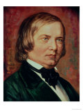 Portrait of Robert Schumann (1810-1856)
