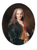 Portrait of Voltaire (1694-1778) Aged 23, 1728