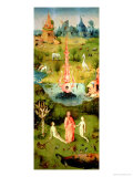 The Garden of Earthly Delights: the Garden of Eden, Left Wing of Triptych, circa 1500