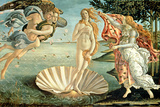 The Birth of Venus, c.1485 Giclee Print