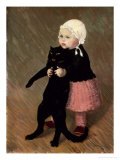 Buy A Small Girl with a Cat, 1889 at AllPosters.com