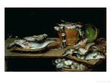 Still Life with Fish Giclee Print
