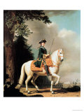 Equestrian Portrait of Catherine II (1729-96) the Great of Russia