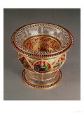 Rock Crystal Box with Gold and Enamel with Plique-A-Jour and Cloisonne Enamelling, by Alexis Falize
