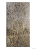 Relief Depicting a Winged Genie, from the Palace at Nimrud (Kalah) (Gypsum)