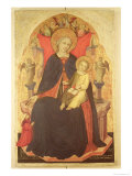 Madonna and Child Enthroned with the Donor Vulciano Belgarzone Di Zara, circa 1394