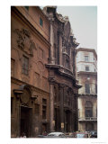 Facades of the Church and Monastery of San Carlo Alle Quattro Fontane, Rome, 1637-41