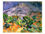Buy Mont Saint Victoire, 1900 at AllPosters.com