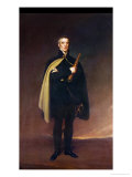 Arthur Wellesley (1769-1852) Duke of Wellington after an Original by Sir Thomas Lawrence Giclee Print
