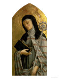 St. Clare, Panel from a Polyptych Removed from the Church of St. Francesco in Padua