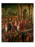 King Henri III (1551-89) of France Visiting Venice in 1574, Escorted by Doge Alvise Mocenigo
