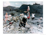 Poor People Gathering Coal at an Exhausted Mine, 1894