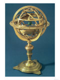 Armillary Sphere Made on the Ptolemaic System by Adam Heroldt, Rome, 1648