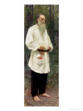 Portrait of Lev Tolstoy (1828-1910) 1901