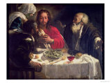 The Supper at Emmaus, circa 1614-21
