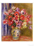 Vase of Tulips and Anemones, circa 1895