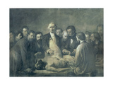 The Anatomy Lesson of Doctor Velpeau (1795-1867)
