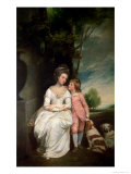 The Countess of Albemarle and Her Son