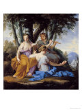 The Muses, Clio, Euterpe and Thalia, circa 1652-55