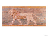 Lion Representing Ishtar, Frieze from the Processional Way Leading to the Great Temple at Babylon
