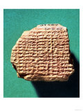Babylonian Tablet, Saturn Ephemeris, circa 500 BC