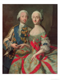 Archduchess Maria Caroline of Austria (1752-1814) Daughter of Emperor Francis I (1708-65)