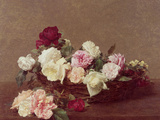 A Basket of Roses, 1890
