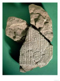 Babylonian Tablet for Calculating Jupiter's Movements, circa 500 BC