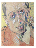 Portrait of a Man, 1924 (Pastel on Paper)