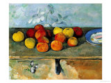 Buy Still Life of Apples and Biscuits, 1880-82 at AllPosters.com