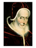 Portrait of Pope Pius V (Michele Ghislieri) (1504-72) 1576-80
