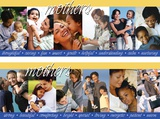 Mothers, 2 part laminated poster set
