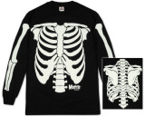 Long Sleeve: The Misfits - Glow in the Dark Skeleton