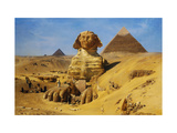Excavation of the Sphinx,