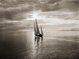 Diamond Head Yacht in Swiftsure Race Photographic Print