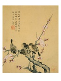 Plum Blossoms and Sparrows