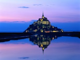 Mont-St.-Michel at Twilight