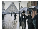 Paris Street; Rainy Day, 1877 Giclee Print