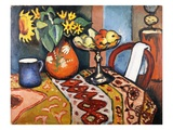 Still Life with Sunflowers II Giclee Print