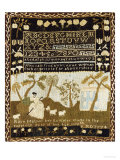 A Fine and Rare Needlework Sampler, Norwich, Connecticut, 1774
