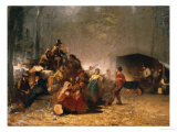 The Party in the Maple Sugar Camp, circa 1861-66