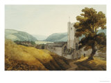 From the Churchyard at Dulverton, Somerset, 1800 Giclee Print
